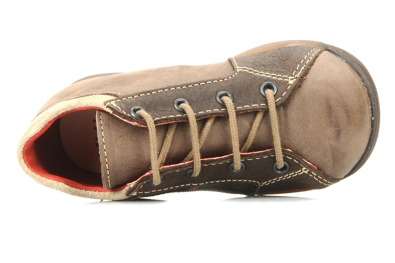 Bottines et boots Little Mary Initial Marron vue gauche