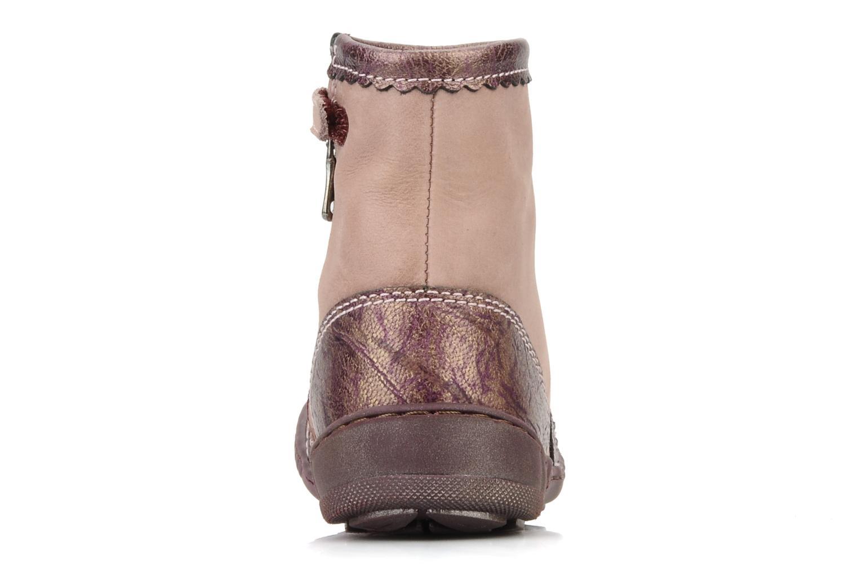 Boots en enkellaarsjes Little Mary Indienne Roze rechts