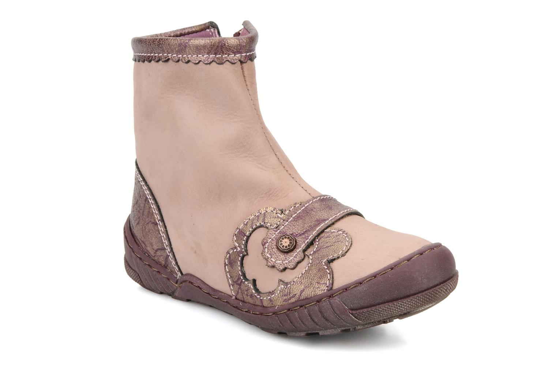 Boots en enkellaarsjes Little Mary Indienne Roze detail