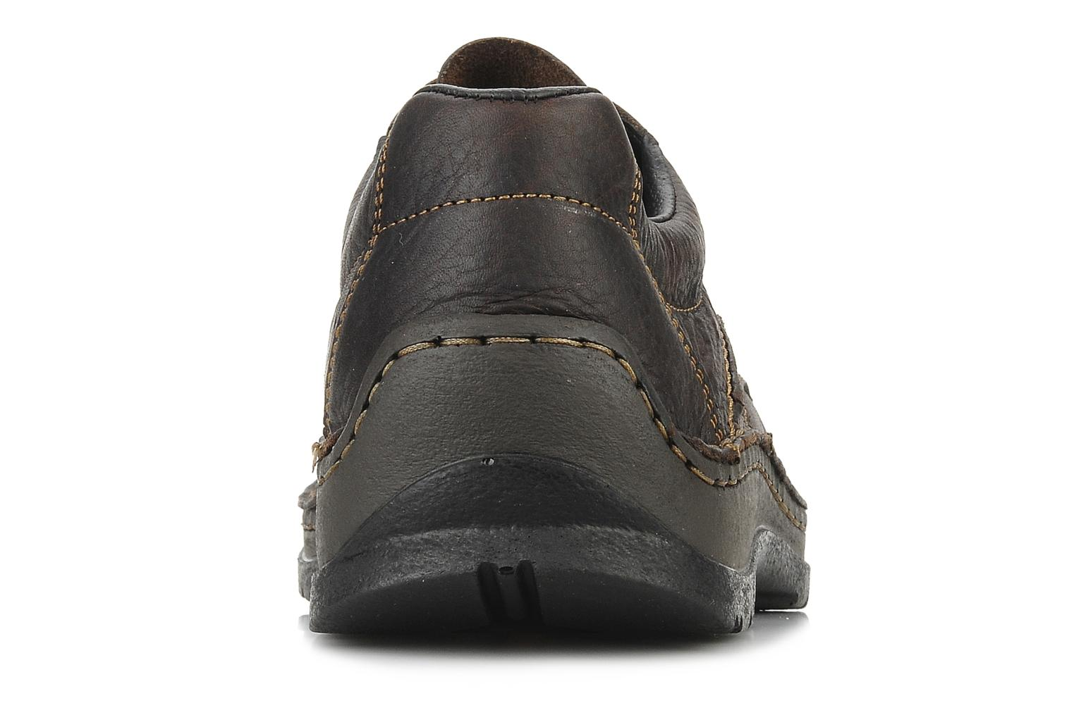 Lace-up shoes Rieker Riek 05310 Brown view from the right
