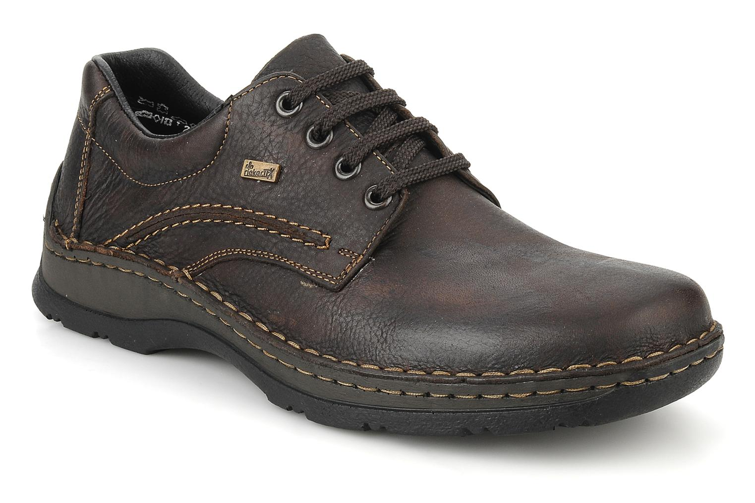 Lace-up shoes Rieker Riek 05310 Brown detailed view/ Pair view