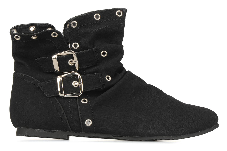 Boots en enkellaarsjes Latinas Boucli Zwart achterkant