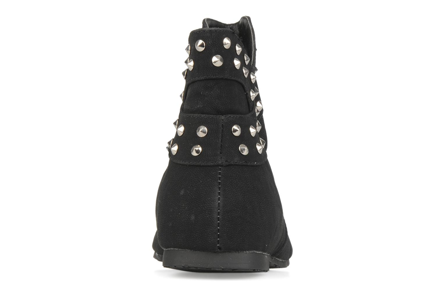 Ankle boots Latinas Botin Black view from the right
