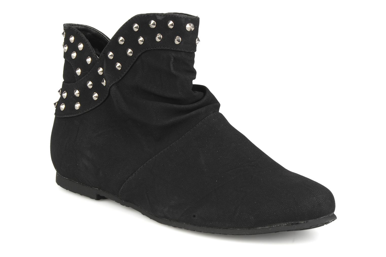 Boots en enkellaarsjes Latinas Botin Zwart detail