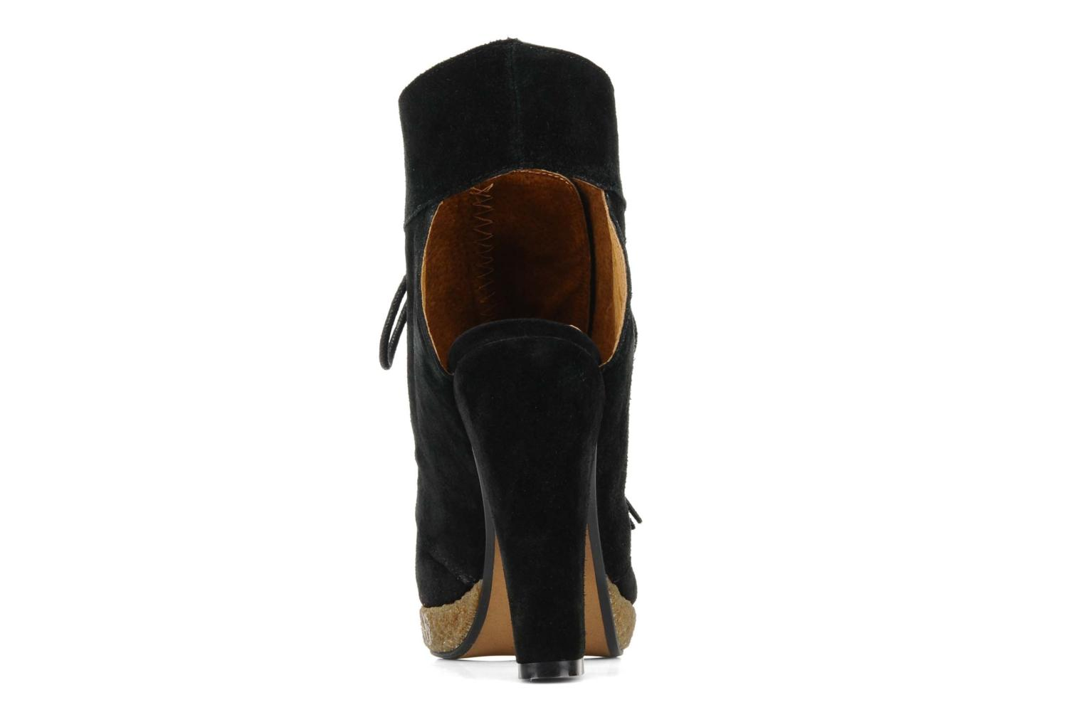 Ankle boots Friis & company Belinda Black view from the right