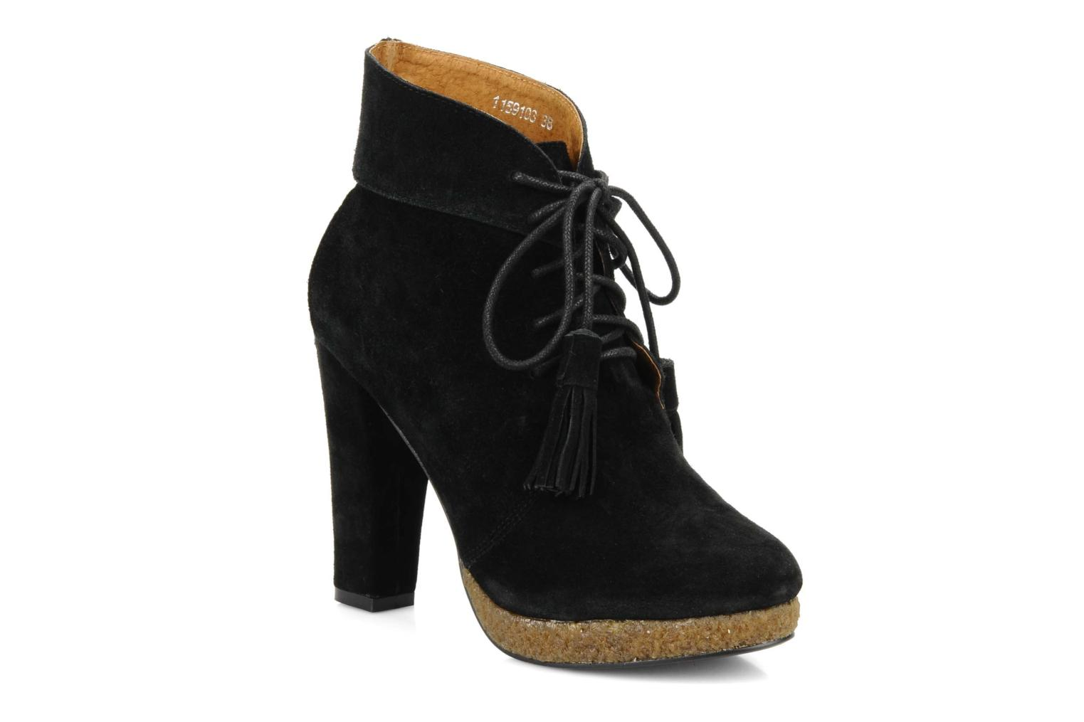Ankle boots Friis & company Belinda Black detailed view/ Pair view