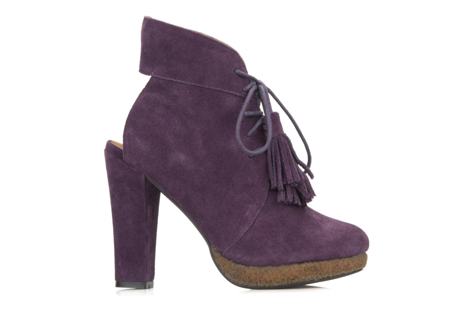 Ankle boots Friis & company Belinda Purple view from the right