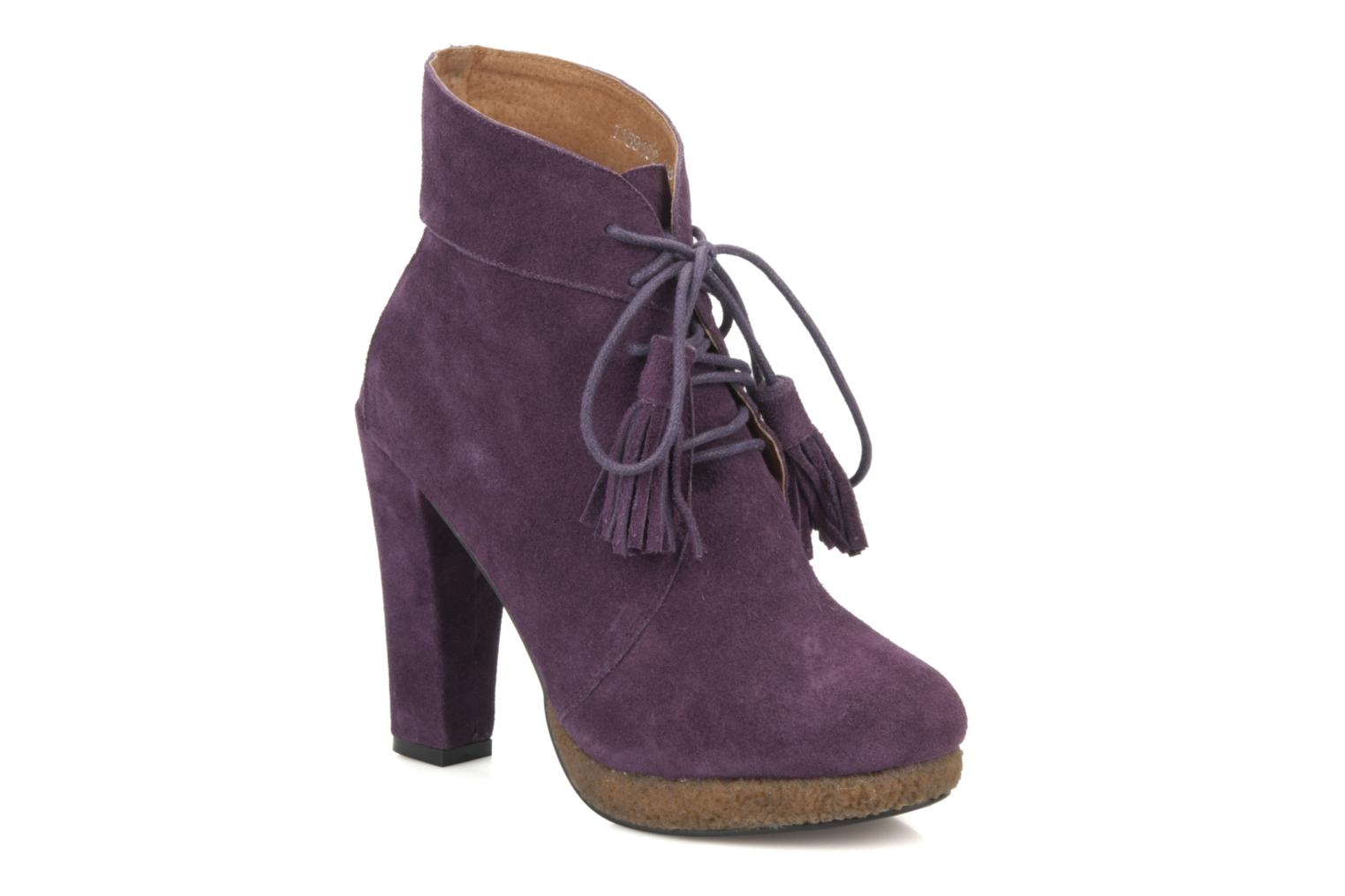 Ankle boots Friis & company Belinda Purple detailed view/ Pair view