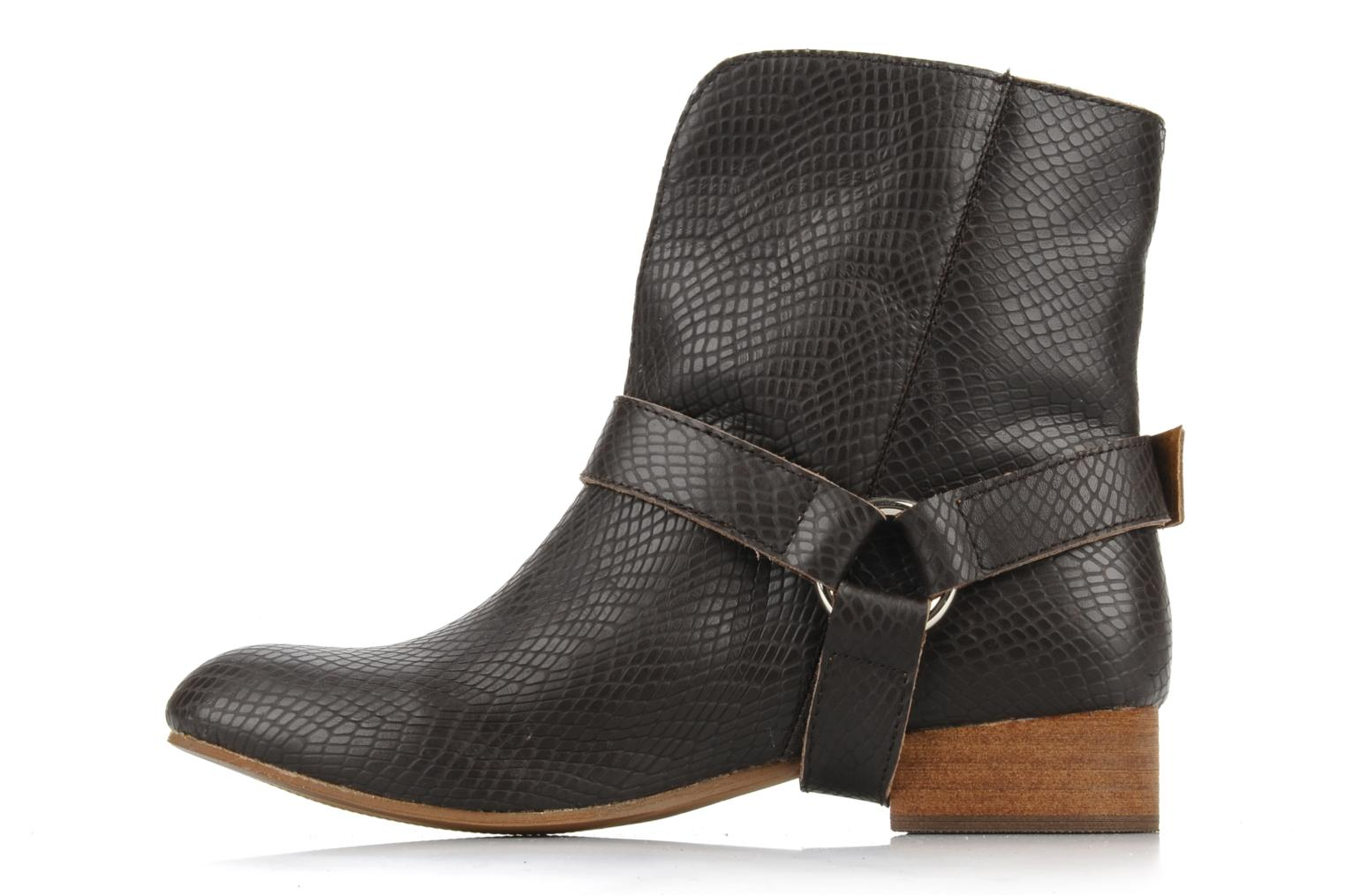 Ankle boots Friis & company Beaneth Brown front view