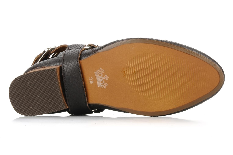 Stiefeletten & Boots Friis & company Beaneth braun ansicht von oben