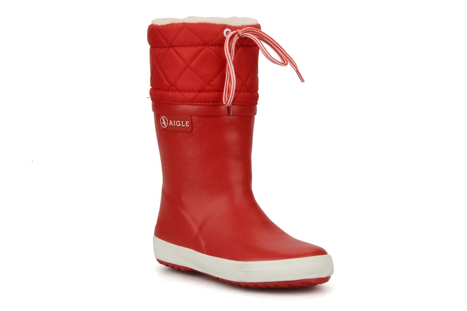 Boots & wellies Aigle Giboulée Red detailed view/ Pair view