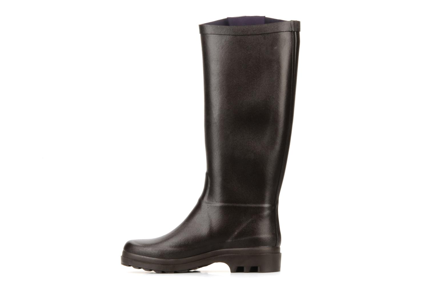 Boots & wellies Aigle Aiglentine Brown front view