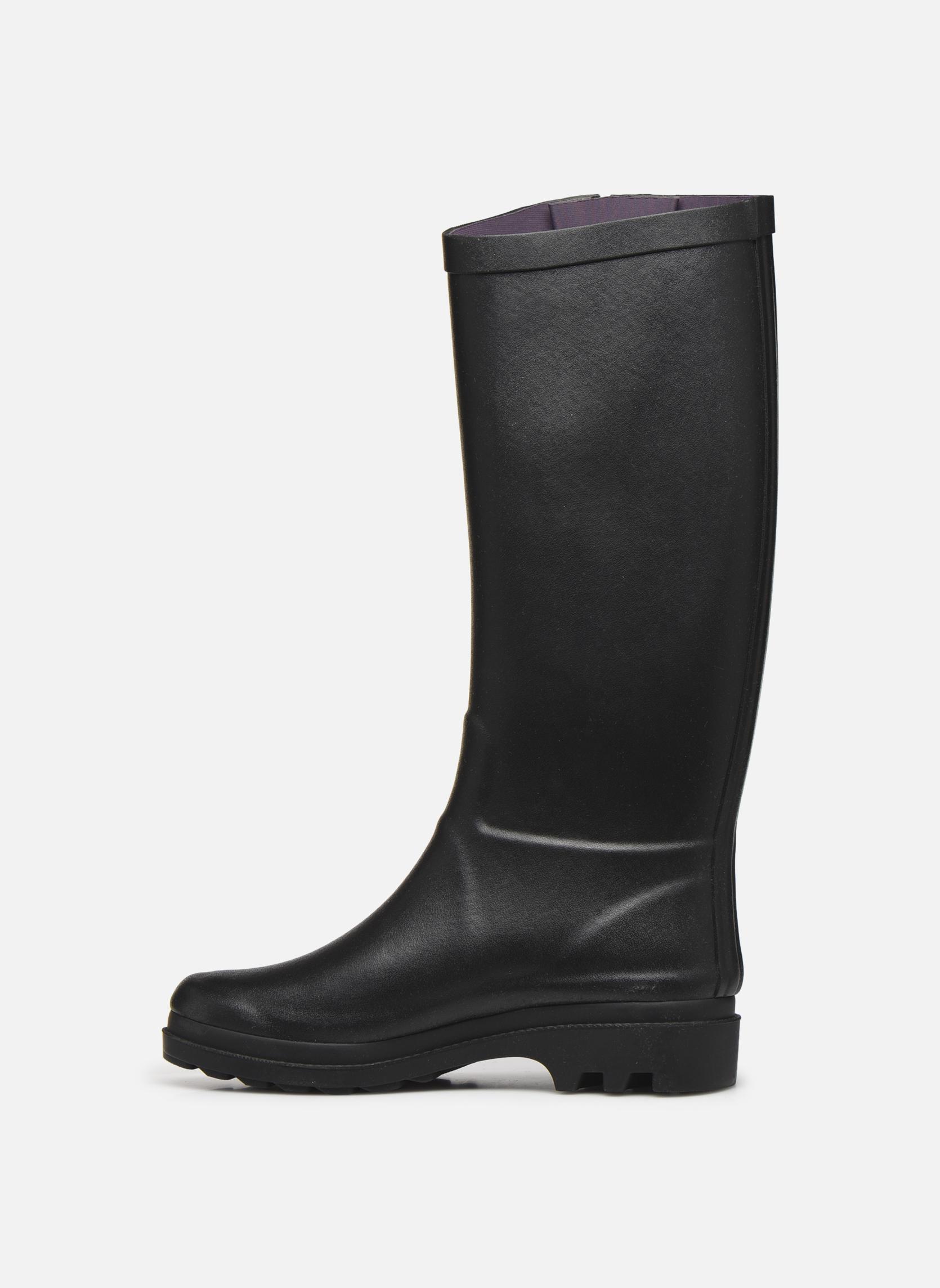 Støvler & gummistøvler Aigle Aiglentine Sort se forfra