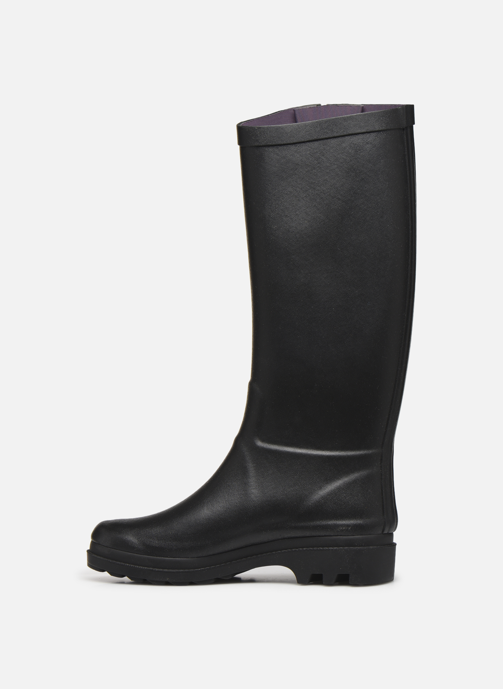 Boots & wellies Aigle Aiglentine Black front view