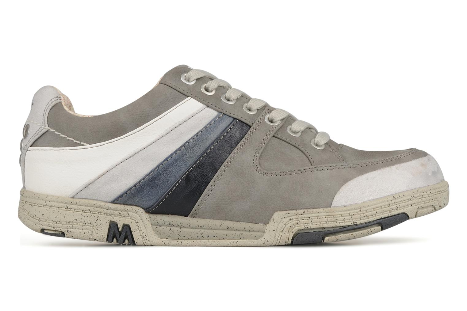 Trainers Mustang shoes Jilio Grey back view