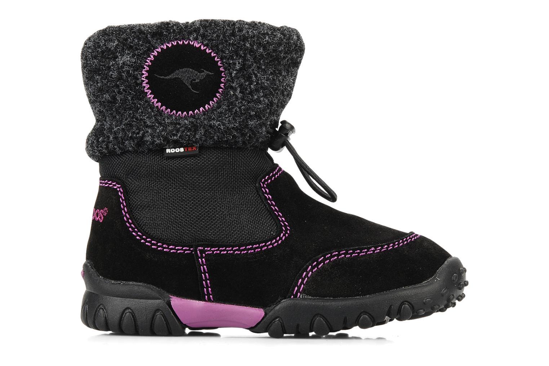 Stiefeletten & Boots Kangaroos Libby schwarz ansicht von hinten