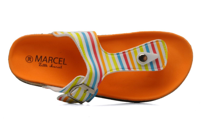 Zehensandalen Little Marcel Clima mehrfarbig ansicht von links