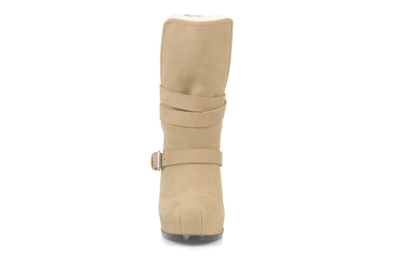 Bottines et boots Pour La Victoire Lizzie Beige vue portées chaussures