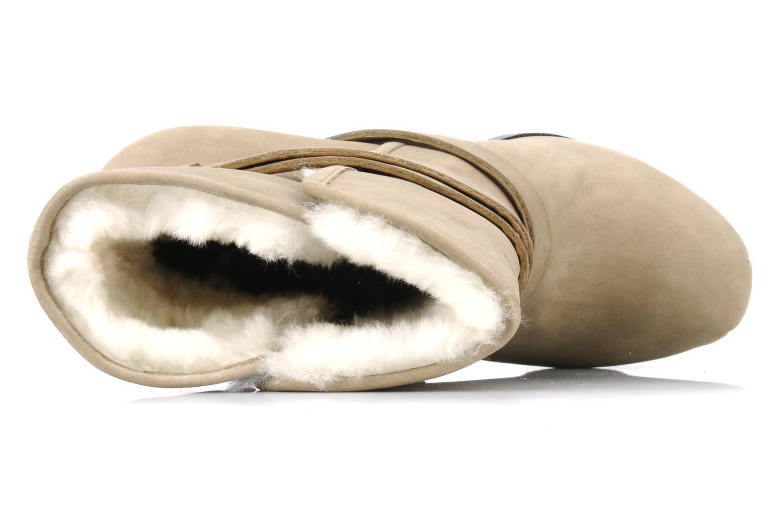Boots en enkellaarsjes Pour La Victoire Lizzie Beige links