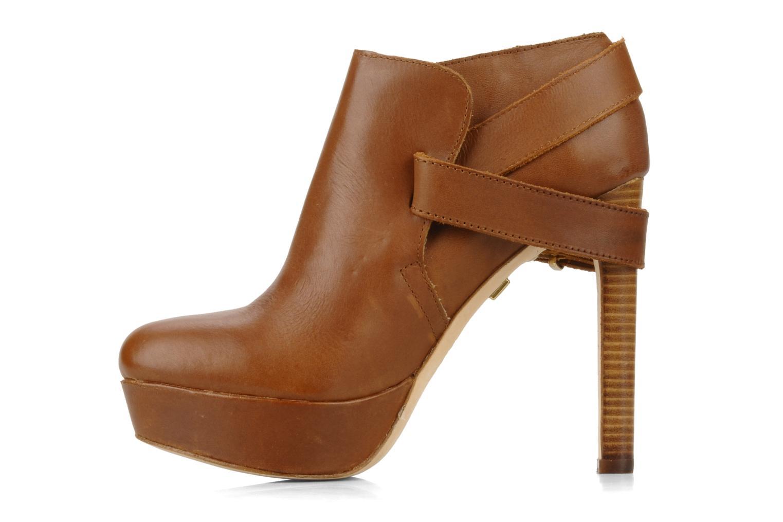 Boots en enkellaarsjes Pour La Victoire Amael Bruin voorkant