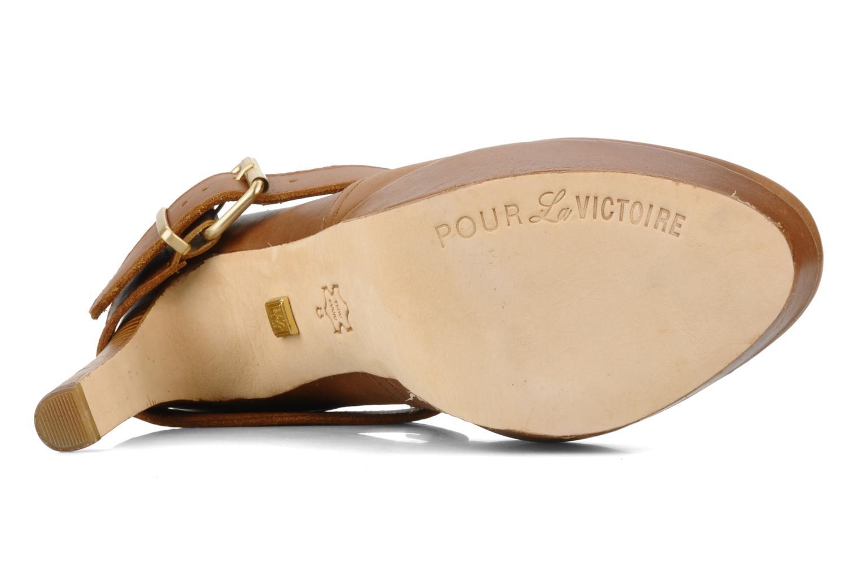 Boots en enkellaarsjes Pour La Victoire Amael Bruin boven