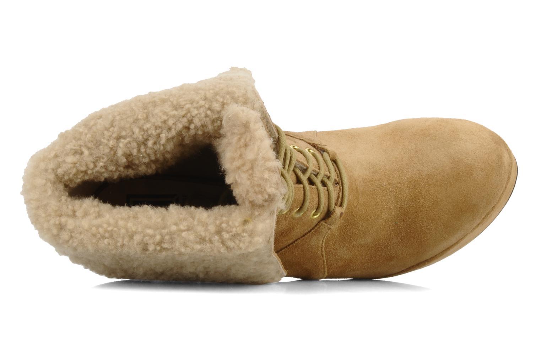 Bottines et boots Pour La Victoire Aileen Beige vue gauche