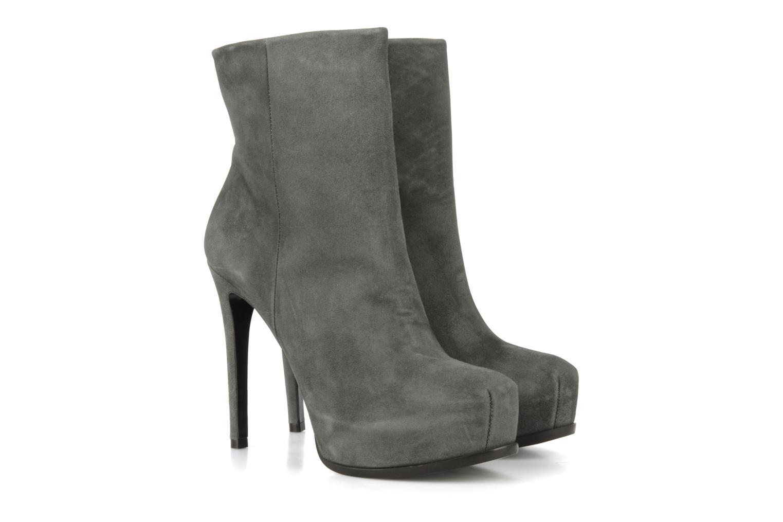Bottines et boots Pour La Victoire Bardot Gris vue 3/4