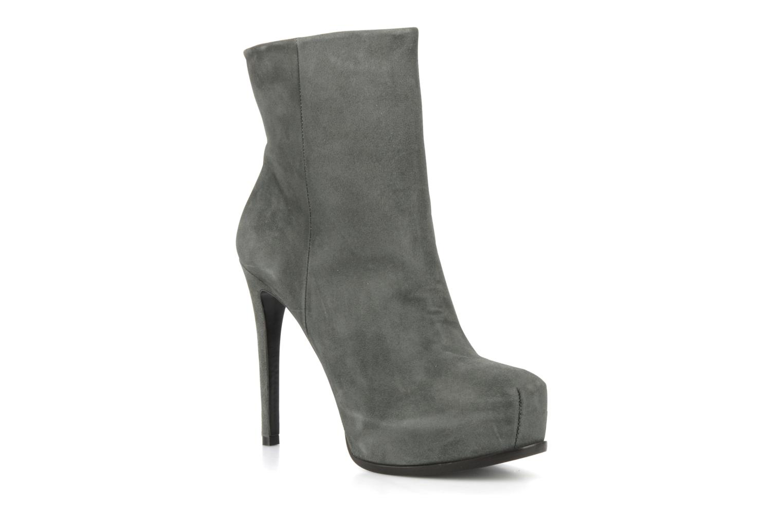 Bardot Grey suede