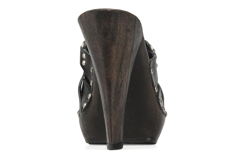 Mules et sabots Mustang shoes Bya Noir vue droite