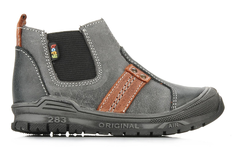 Bottines et boots Bopy Beta Noir vue derrière