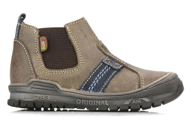 Bottines et boots Bopy Beta Marron vue derrière