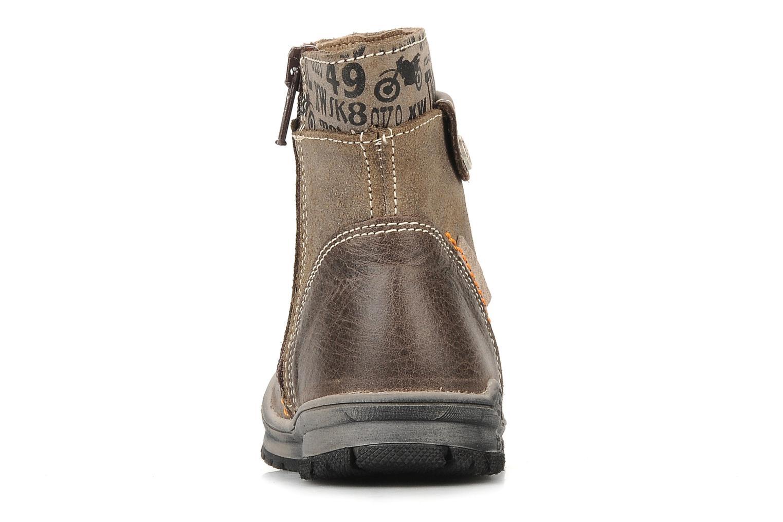 Bottines et boots Bopy Botar Marron vue droite