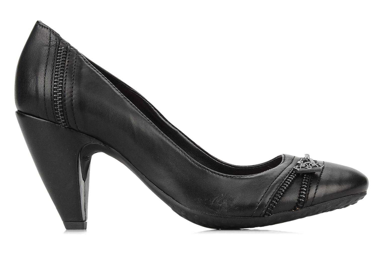 High heels Fornarina Bea Black back view