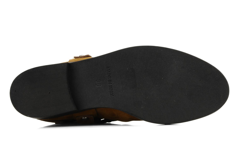 Bottines et boots Kéy Té By Kallisté Clorida Marron vue haut