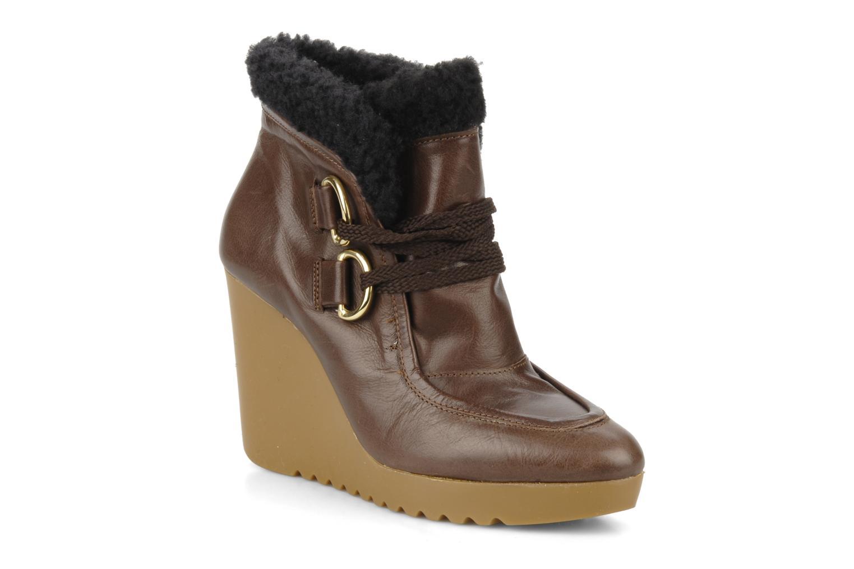 Boots en enkellaarsjes Kéy Té By Kallisté Donata Bruin detail