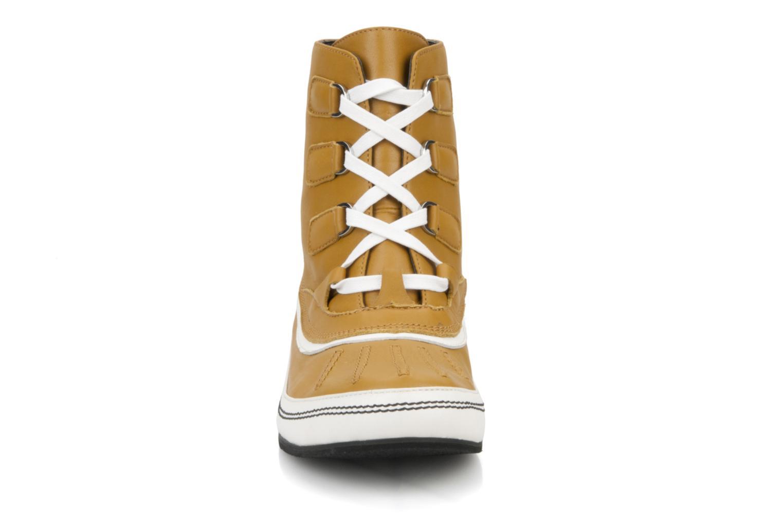 Bottines et boots Kesslord Dawson Marron vue portées chaussures