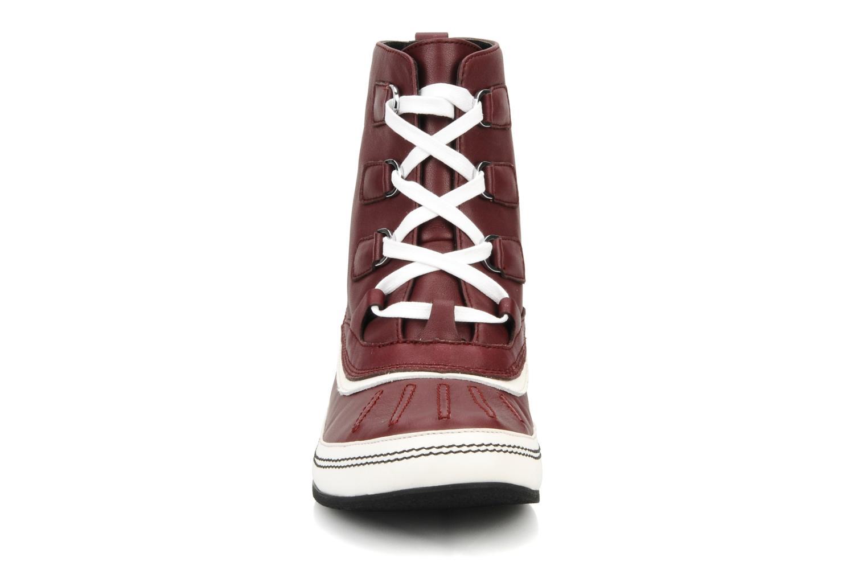 Stiefeletten & Boots Kesslord Dawson weinrot schuhe getragen