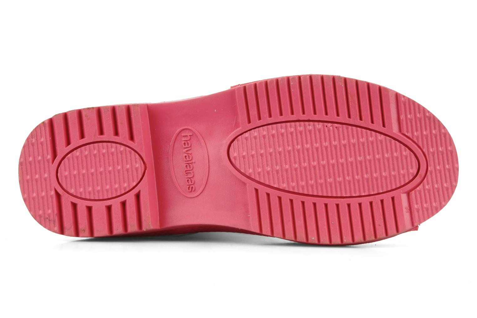 Bottes Havaianas Feeling wellies w Rose vue haut