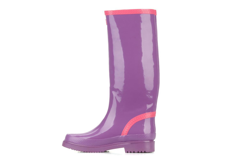 Stiefel Havaianas Feeling wellies w lila ansicht von vorne