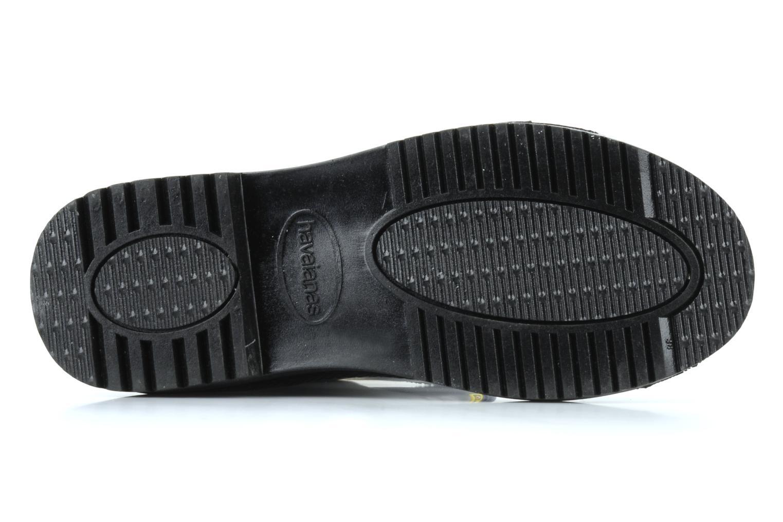 Stiefel Havaianas Feeling wellies w schwarz ansicht von oben