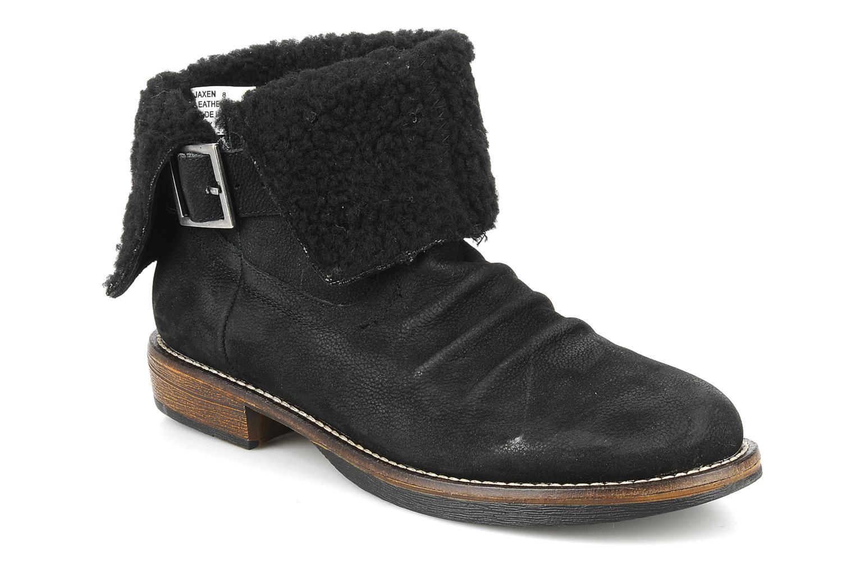 Jaxen Black leather