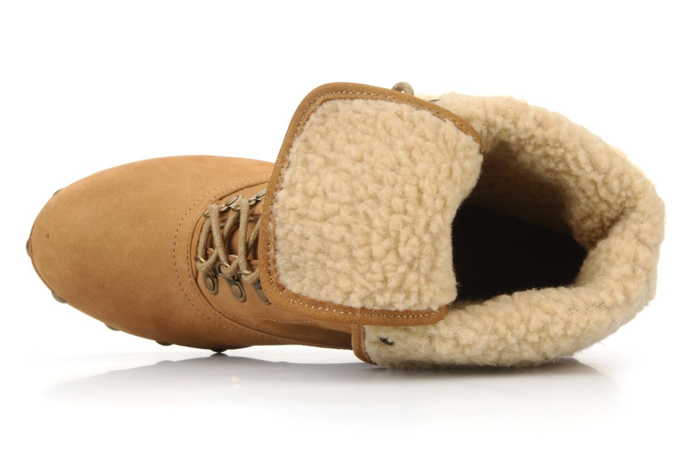 Stiefeletten & Boots No Name Mikonos boots fur beige ansicht von oben