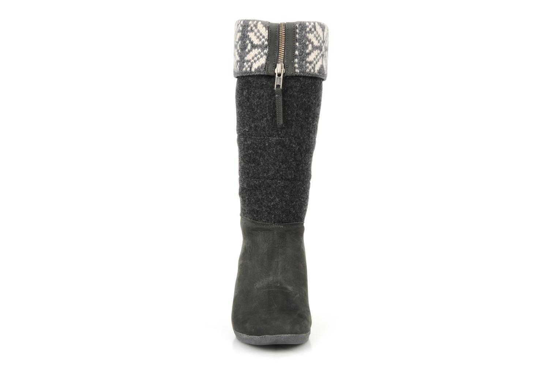 Bottines et boots No Name Choko ski bottes Gris vue portées chaussures