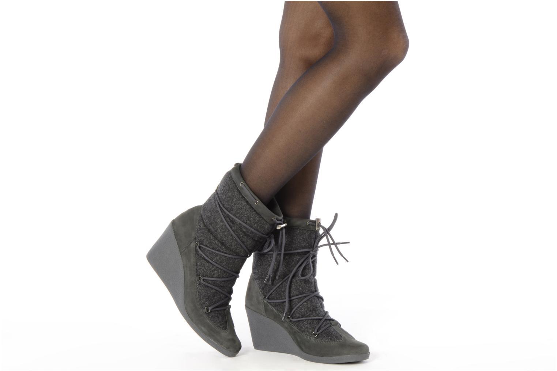 Stiefeletten & Boots No Name Choko ski boots grau ansicht von unten / tasche getragen