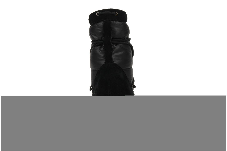 Choko ski boots Doudoune/suede noir
