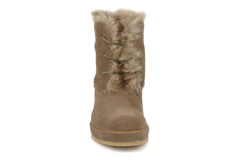 Ankelstøvler No Name New aki crepe desert botte Beige se skoene på