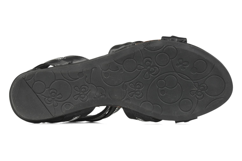 Sandalen Spot On Oli Zwart boven