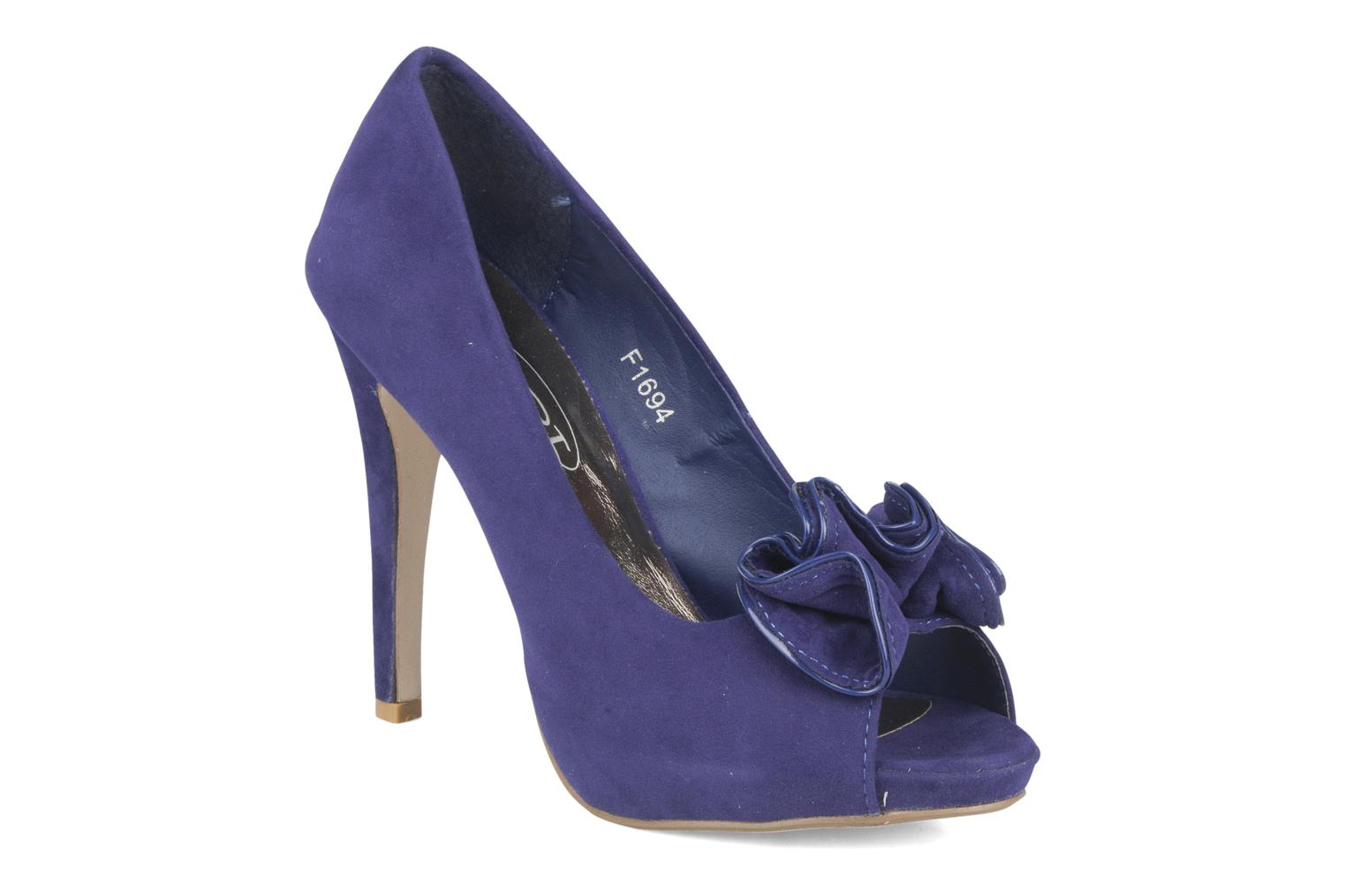 Pumps Spot On Pipo Blauw detail