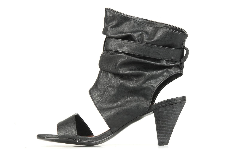 Sandales et nu-pieds Spot On Marila Noir vue face