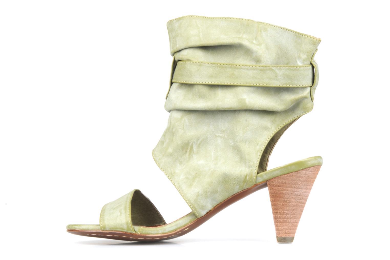 Sandalen Spot On Marila grün ansicht von vorne